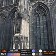 Gothic window 3d model