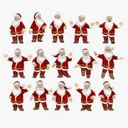 Pose de Santa 3d model