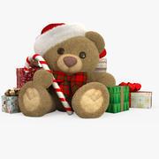 Weihnachten Teddybär 3d model
