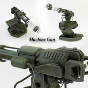 Machinegeweer (1) 3d model