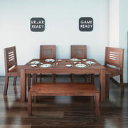 Dining Table02 VR_AR_Game Ready 3d model