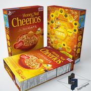 Cheerios Honey Nut 3d model
