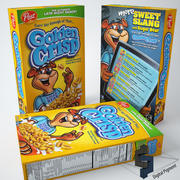Golden Crisp Cereal 3d model