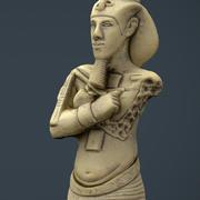 Akhenaton modelo 3d