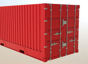 Industrial Container 3d model