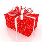 礼品盒01 2 3d model