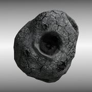 Asteroide modelo 3d