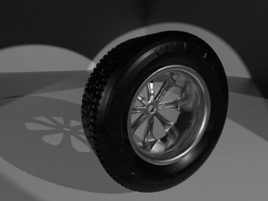 roda (1) royalty-free 3d model - Preview no. 2