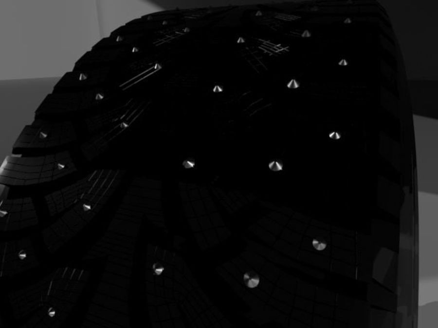 roda (1) royalty-free 3d model - Preview no. 4
