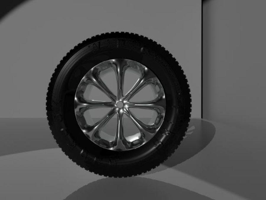 roda (1) royalty-free 3d model - Preview no. 3