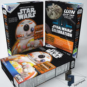 Star Wars spannmål 3d model