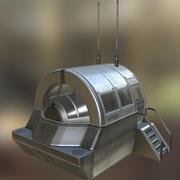 Модуль крышки драйверов Базовая версия 3d model