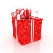 礼品盒01 1 3d model