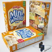 Mini Wheats Original spannmål 3d model