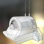 Модуль крышки водителя Low-Poly 3d model