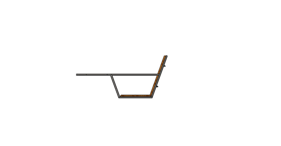 Silla futurista con muebles de mesa royalty-free modelo 3d - Preview no. 6