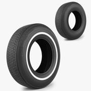 轮胎火石 3d model