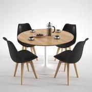 Habitat Lance Dining Table 3d model