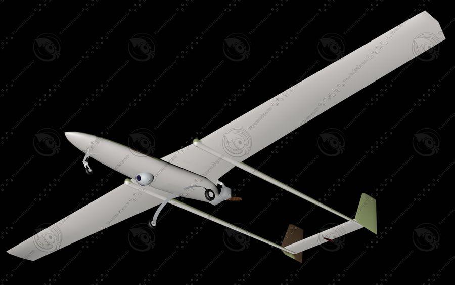 UAV Pegasus royalty-free 3d model - Preview no. 3
