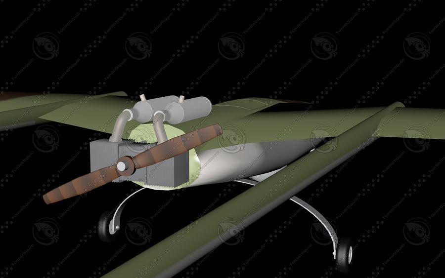 UAV Pegasus royalty-free 3d model - Preview no. 4