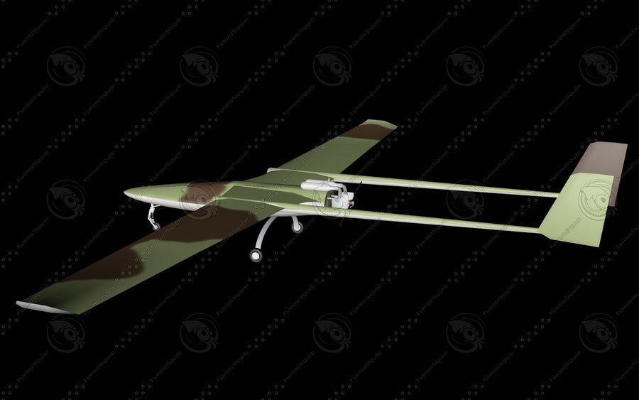 UAV Pegasus royalty-free 3d model - Preview no. 1