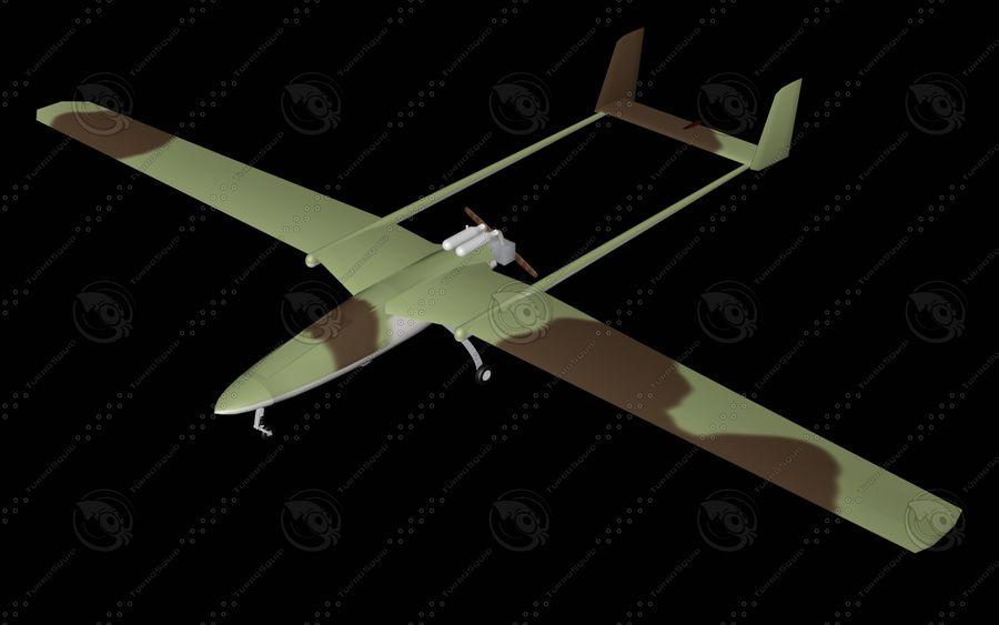 UAV Pegasus royalty-free 3d model - Preview no. 2