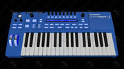 Ultranova Synthesizer 3d model