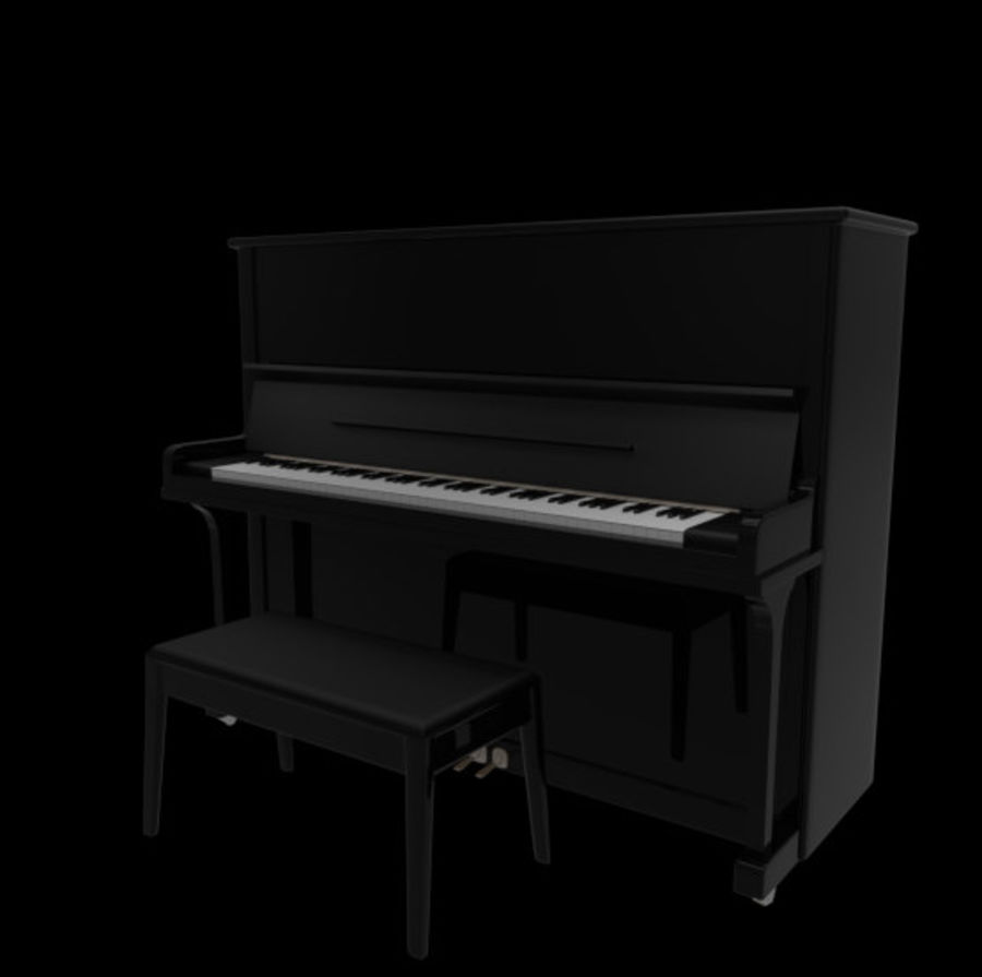 钢琴曲 royalty-free 3d model - Preview no. 4