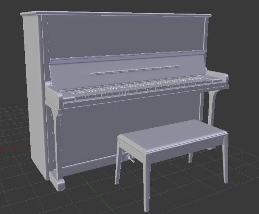 钢琴曲 royalty-free 3d model - Preview no. 7