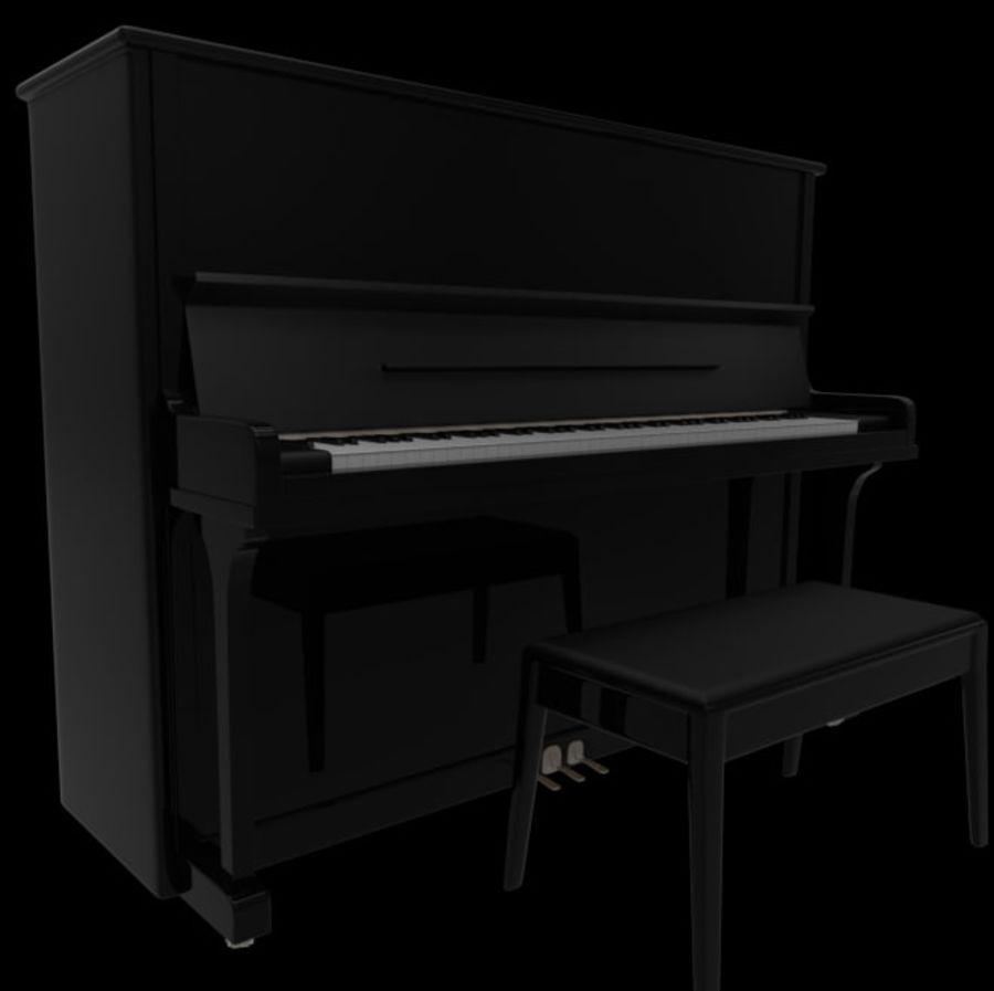 钢琴曲 royalty-free 3d model - Preview no. 2