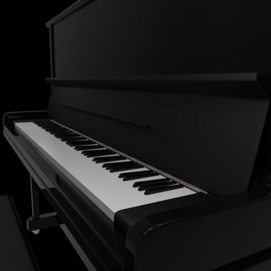 钢琴曲 royalty-free 3d model - Preview no. 1