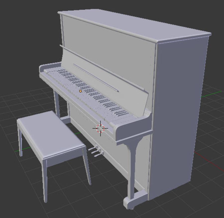 钢琴曲 royalty-free 3d model - Preview no. 5