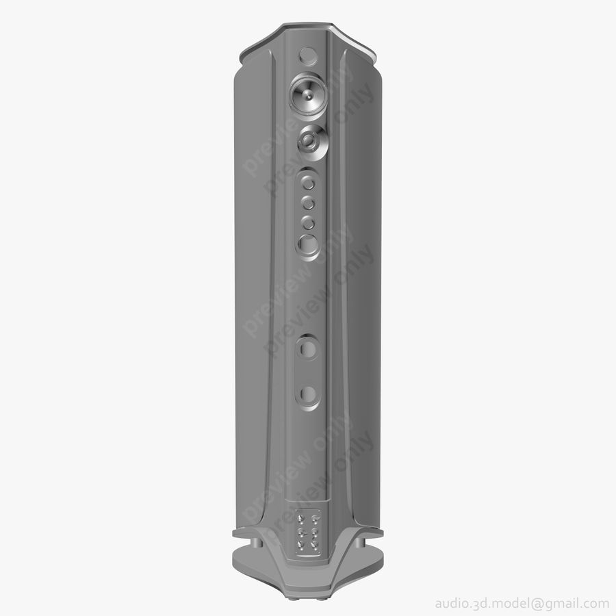 Сонус фабер аида красный royalty-free 3d model - Preview no. 12