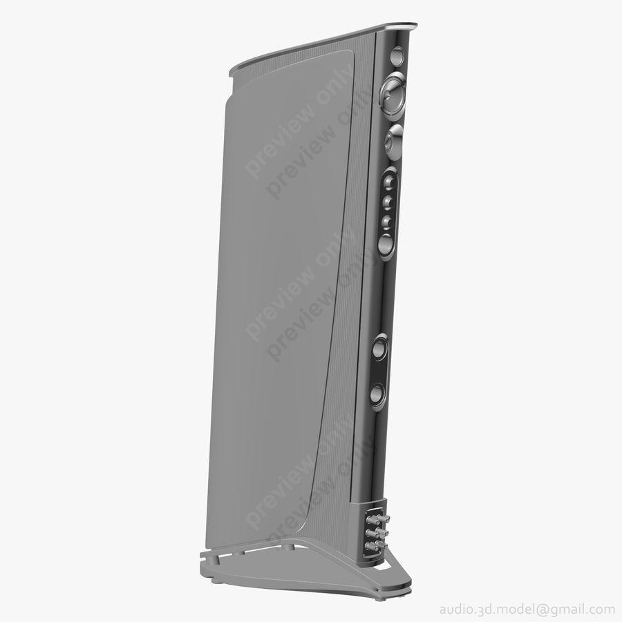 Сонус фабер аида красный royalty-free 3d model - Preview no. 11