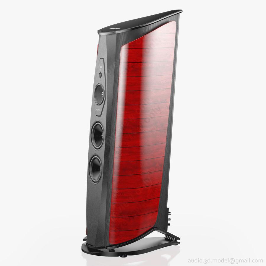 Сонус фабер аида красный royalty-free 3d model - Preview no. 2