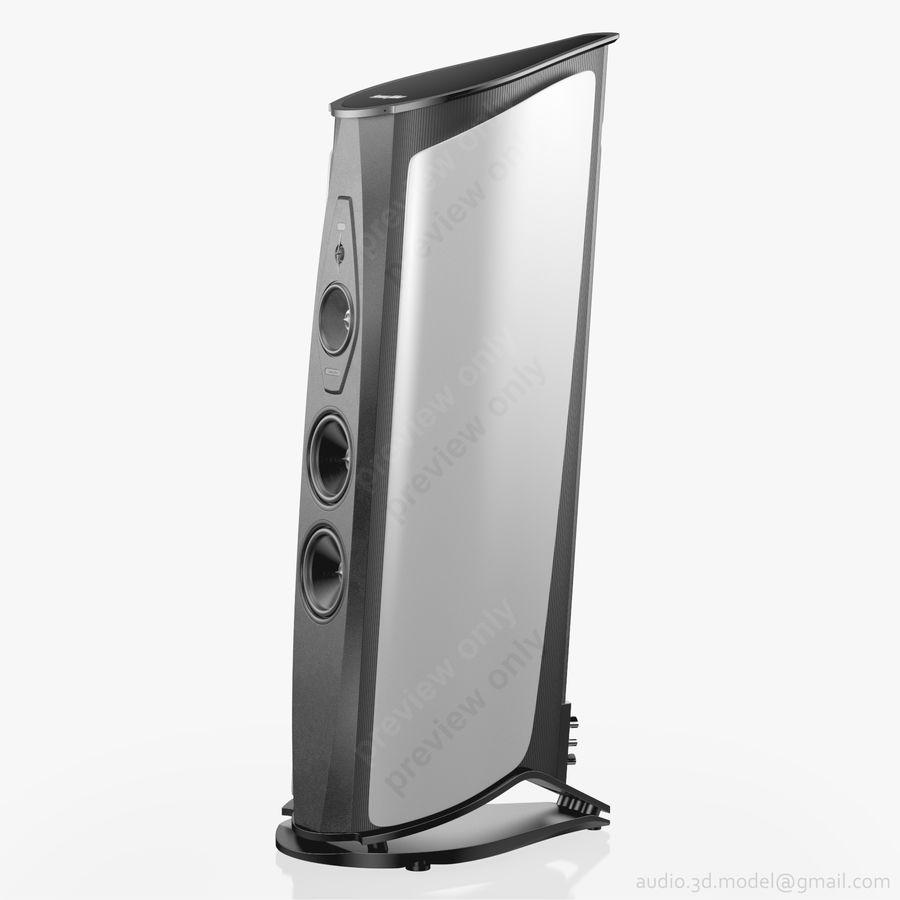 Сонус фабер аида белый royalty-free 3d model - Preview no. 2