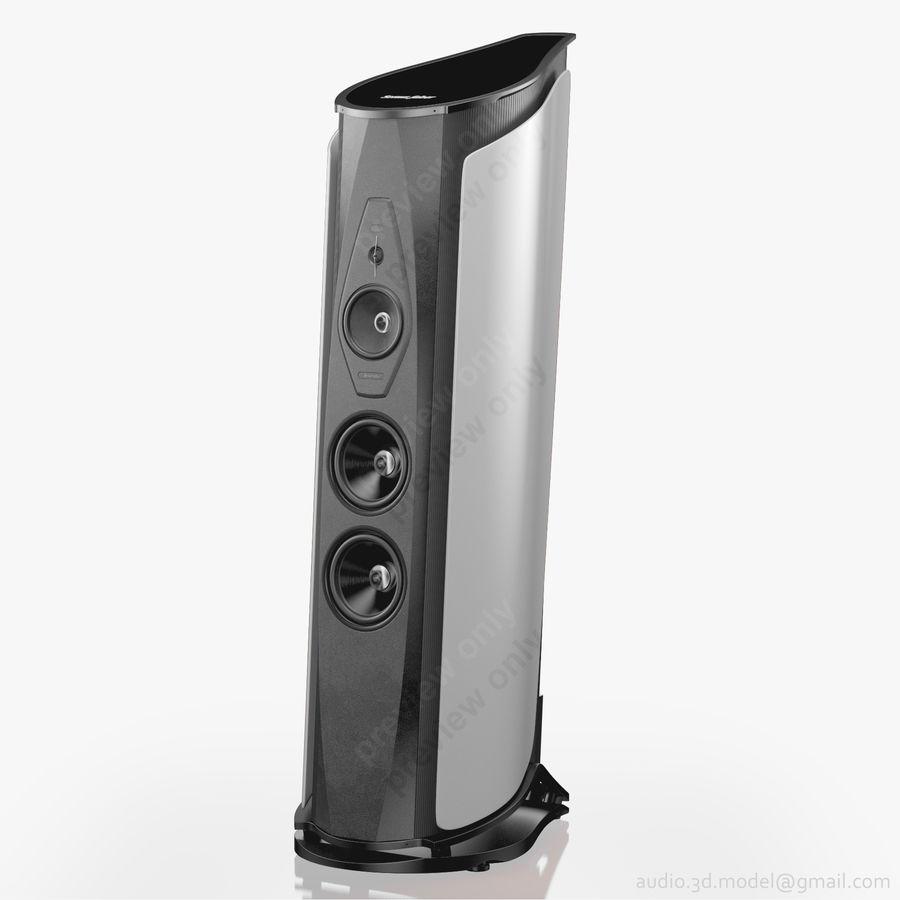 Сонус фабер аида белый royalty-free 3d model - Preview no. 1