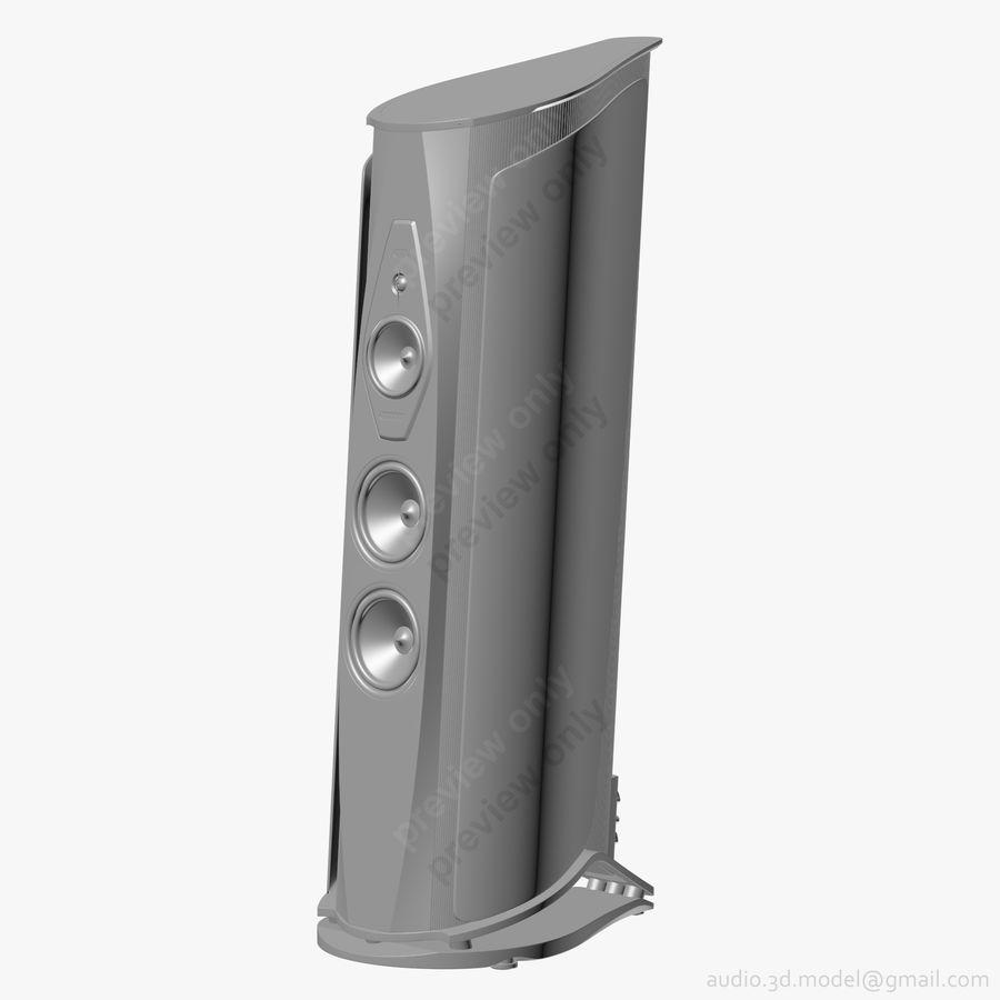 Сонус фабер аида белый royalty-free 3d model - Preview no. 10