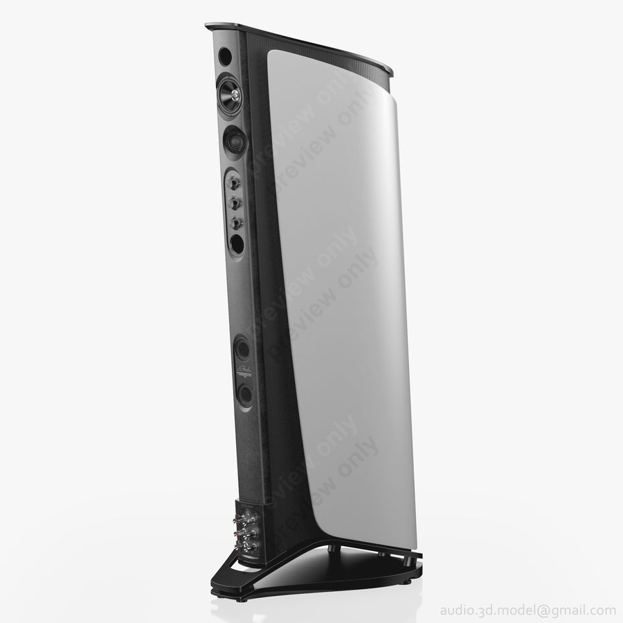 Сонус фабер аида белый royalty-free 3d model - Preview no. 5