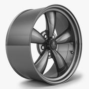 野马Bullit轮辋 3d model