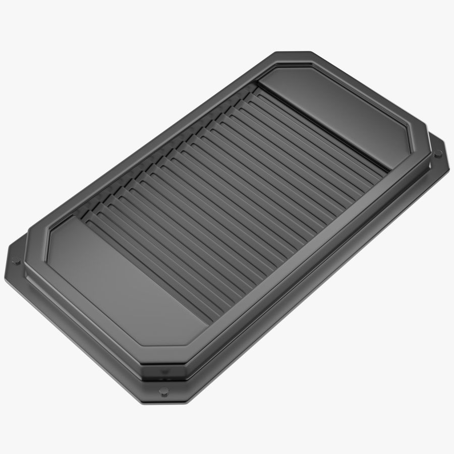 Air Vent 2 royalty-free 3d model - Preview no. 1