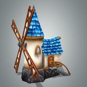 Maison fantastique 1 3d model