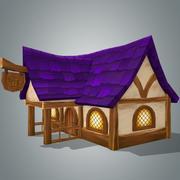 Maison fantastique 5 3d model