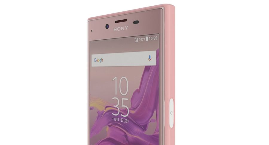 Sony Xperia XZ Deep pink (1) royalty-free 3d model - Preview no. 15