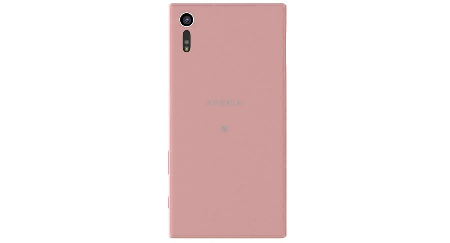 Sony Xperia XZ Deep pink (1) royalty-free 3d model - Preview no. 7
