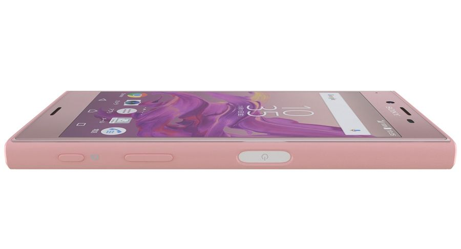 Sony Xperia XZ Deep pink (1) royalty-free 3d model - Preview no. 8