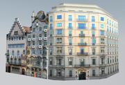 Barcelona landmärken 3d model