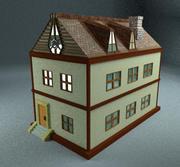 二階建ての家 3d model