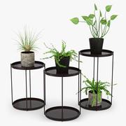 Stojak na rośliny 3d model