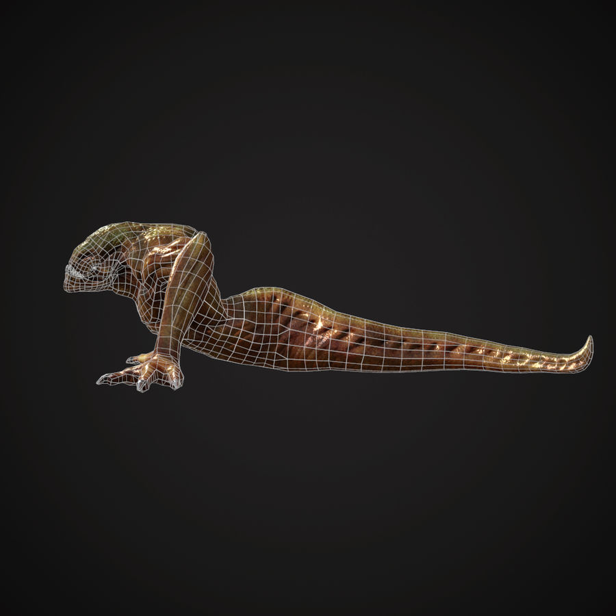 Creature Creepy royalty-free 3d model - Preview no. 5